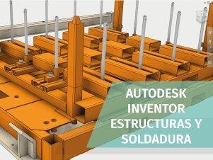 curso estructura soldadura autodesk inventor