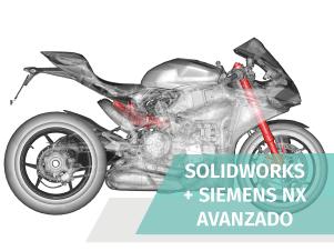Tecnico diseño industrial avanzado solidworks siemens nx